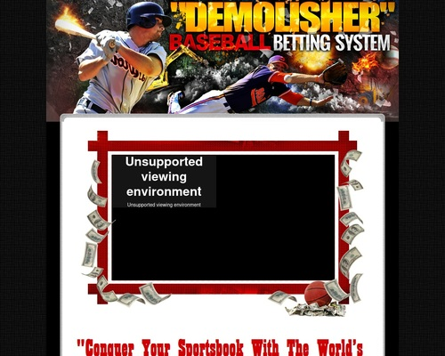 requisitioned demolisher betting